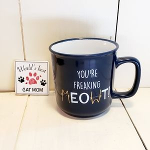 🆕️ Kitty 😺 Mug & Magnet